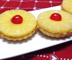 Crostatine all'ananas