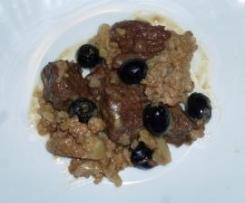 Spezzatino con cavolfiore e olive