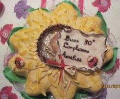 La torta del mio 30° compleanno