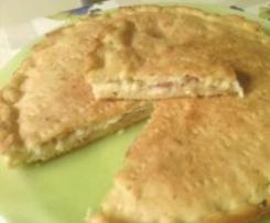 Focaccia pancetta e galbanino