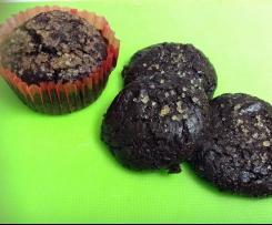 Biscotti di avocado, mandorle e cacao