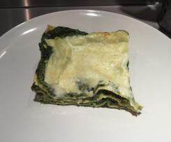 Lasagne spinaci ricotta e basciamella