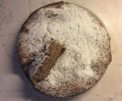 Torta cocco e nocciole (senza glutine)