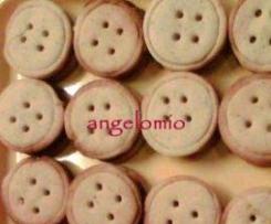 Bottoni alla crema di nocciole