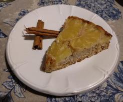 Torta all'ananas e cannella senza glutine