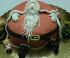 Babbo Natale (nel panettone)