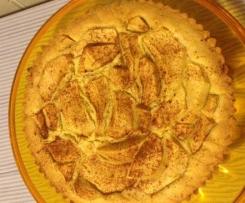 Crostata morbida alle mele e cannella