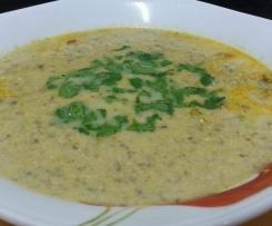 Zuppa piccante di pollo e funghi (ricetta indiana)