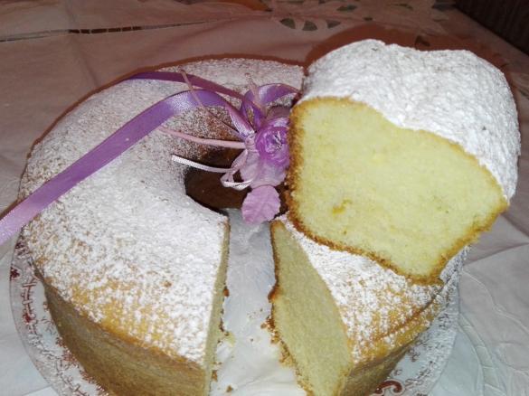 Ciambella Soffice Di Nonna Teresa Con Cottura Nel Fornetto Versilia