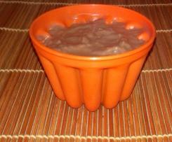 Budino al cioccolato .... Riciclato!!!!