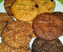 Biscotti integrali - IRRESISTIBILI - Cookies per la colazione