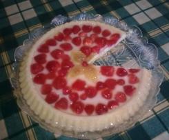torta con fragole (tarte aux fraises)