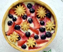 Crostata Yogurt e Ricotta