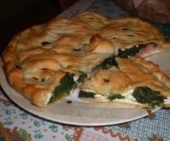 Torta salata ricotta e spinaci - Apemaia31 -