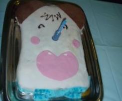 Torta Hello Spank (per il primo compleanno di Paolo Miki)