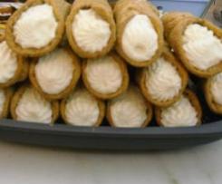 crema alla ricotta per cannoli siciliani by corrada