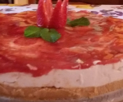 cheesecake fragolosa