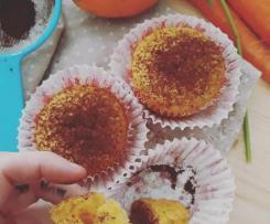 Cupcakes nuvola arancione! (Vegan)