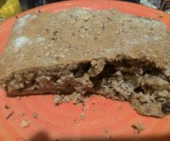 Strudel di mele con farina integrale mandorle e semi di papavero bianchi- contest strudel