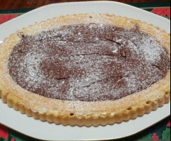 CROSTATA A BASE MORBIDA CON NUTELLA