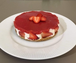 Cheesecake light alle fragole