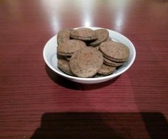Biscotti salati con olive nere e Semi di Chia-Contest biscotti salati