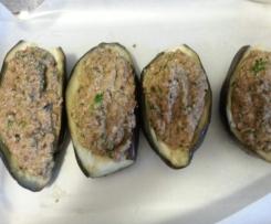 melanzane ripiene di carne alla calabrese