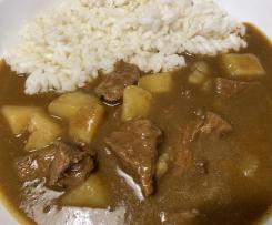 Riso al curry alla giapponese (カレーライス karē raisu)