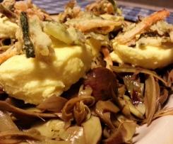 Budino di parmigiano con carciofi