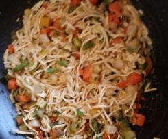 Noodeles vegetariani veloci
