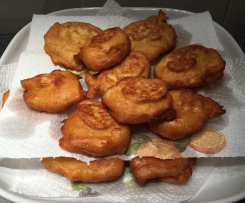Frittelle di verza e patate