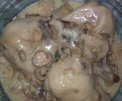 pollo ai funghi champignons by corrada