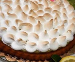 Crostata lemon curd meringata
