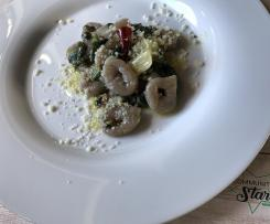 Spizzulus al Cannonau pasta fresca tipica sarda
