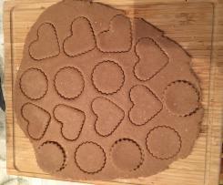 Variante di Biscotti integrali al profumo di limone e zenzero (vegan, senza zucchero)