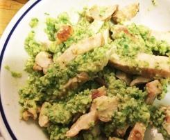 Salsa alle zucchine e basilico