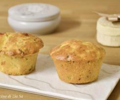 Muffin alle zucchine e scamorza