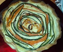 Torta salata vortice di verdure