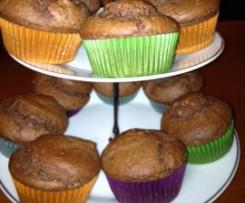 Muffin alla ricotta e cacao