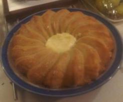 Torta di mele gustosa ma light