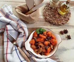 Contorno di funghi misti batata e olive taggiasche (contest funghi)