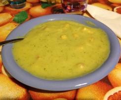 Vellutata delicata ai broccoli