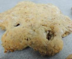 Biscotti avena e crusca con burro salato