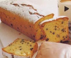 PLUM-CAKE CON FRUTTA SECCA