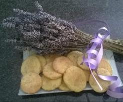 Biscotti al Burro Salato aromatizzati alla Lavanda