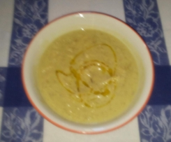 Zuppa di fave secche e finocchietto