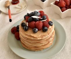 "Pancake proteici healthy ""contest ricette leggere"""