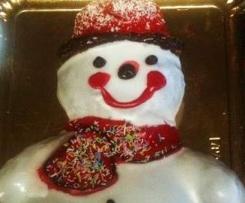 RICETTE DI NATALE - Pupazzo di neve goloso della blogger Valentina