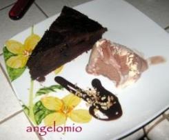 Mud cake al cioccolato fondente