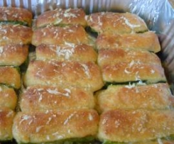 Barchette di zucchine gratinate aromatiche
